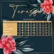 PRINCESS TERESSA V4 - TEAL GREEN - KHAIZAN