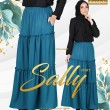 SALLY SKIRT - TEAL BLUE - KHAIZAN
