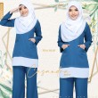 CASANDRA SUIT - DUSTY BLUE - KHAIZAN