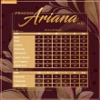 PRINCESS ARIANA V10 - MOCHA - KHAIZAN