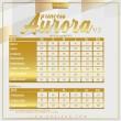 PRINCESS AURORA V5 - DUSTY ORANGE - KHAIZAN