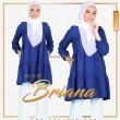 BLOUSE BRIANA - ROYAL BLUE - KHAIZAN