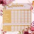 PRINCESS QALSOM V5 - DUSTY ORANGE - KHAIZAN