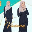 MISS VIVIANA - NAVY BLUE - KHAIZAN