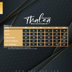 THALEA BLOUSE - GREEN TEA - KHAIZAN