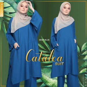 CATALEA SUIT - DEEP BLUE (V2) - KHAIZAN