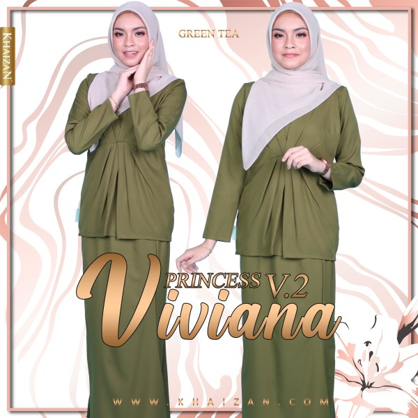 MISS VIVIANA V2 - GREEN TEA - KHAIZAN