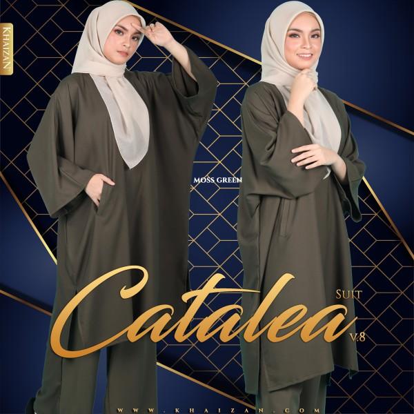 CATALEA SUIT V8 - MOSS GREEN - KHAIZAN