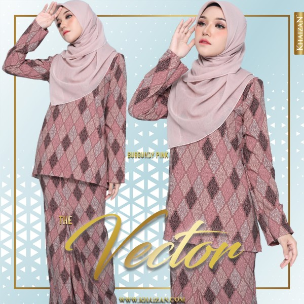 THE VECTOR - BURGUNDY PINK - KHAIZAN