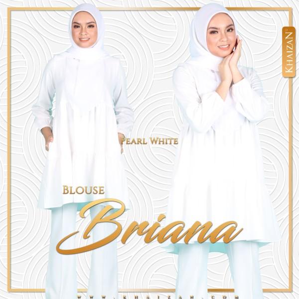 BLOUSE BRIANA - PEARL WHITE - KHAIZAN