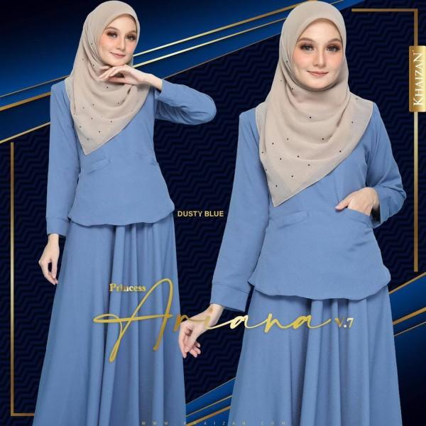 PRINCESS ARIANA - DUSTY  BLUE (V7)  - KHAIZAN