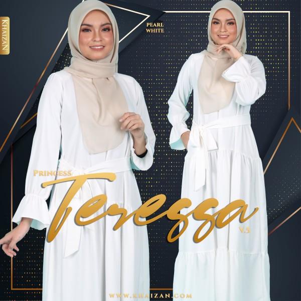 PRINCESS TERESSA V5 - PEARL WHITE - KHAIZAN