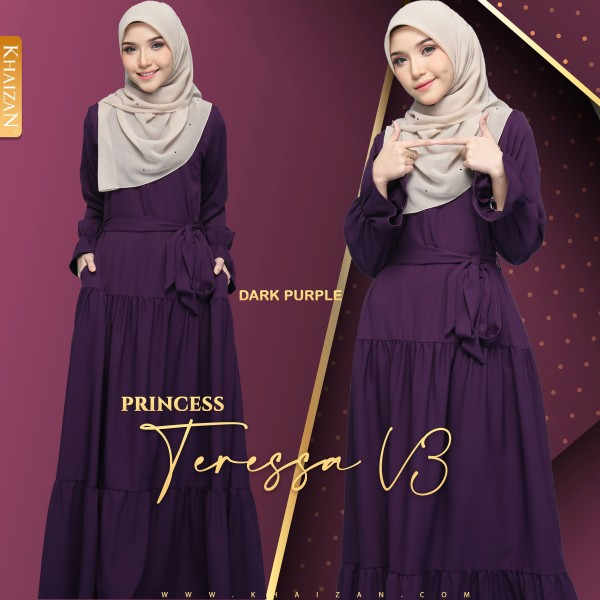 PRINCESS TERESSA V3 - DARK PURPLE - KHAIZAN