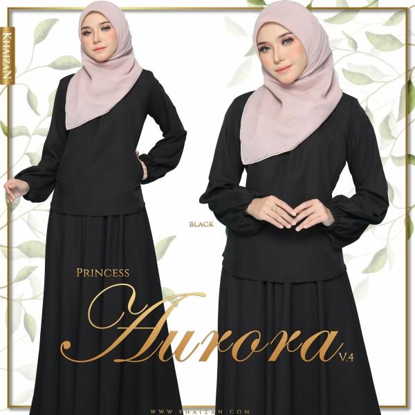 PRINCESS AURORA V4 - BLACK - KHAIZAN