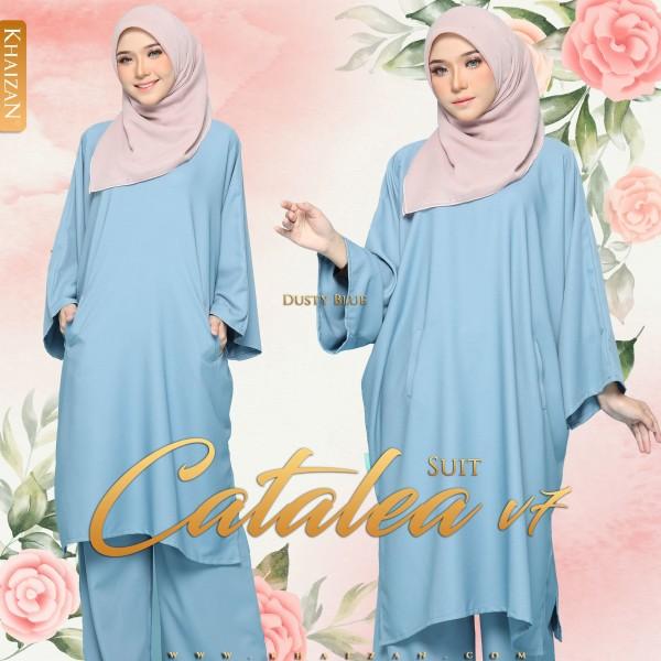 CATALEA SUIT V7 - DUSTY BLUE - KHAIZAN