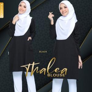 THALEA BLOUSE - BLACK - KHAIZAN