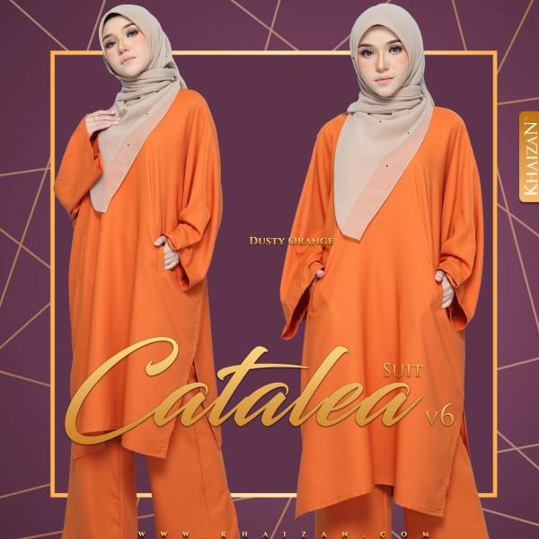 CATALEA SUIT V6 - DUSTY ORANGE - KHAIZAN