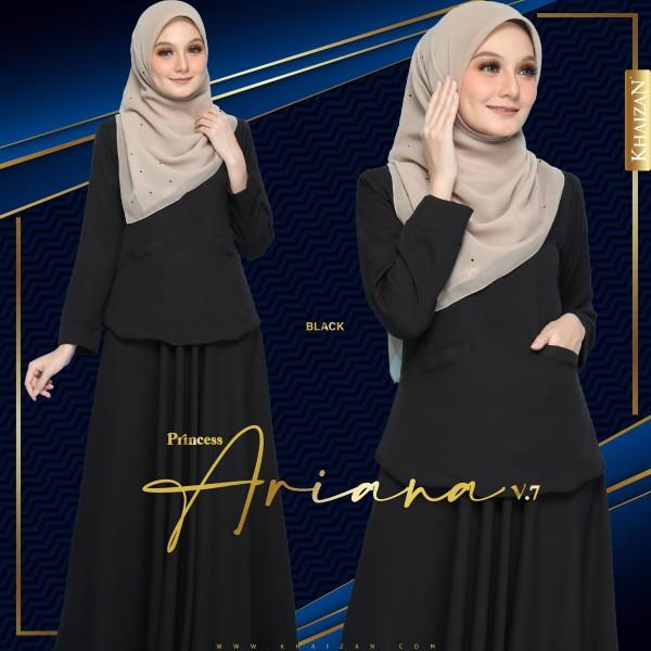PRINCESS ARIANA V7 - BLACK - KHAIZAN