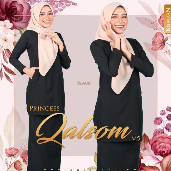 PRINCESS QALSOM V5 - BLACK - KHAIZAN
