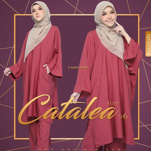 CATALEA SUIT V6 - CANDY APPLE - KHAIZAN