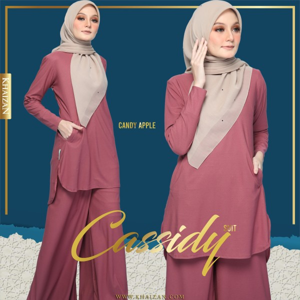 CASSIDY SUIT - CANDY APPLE - KHAIZAN