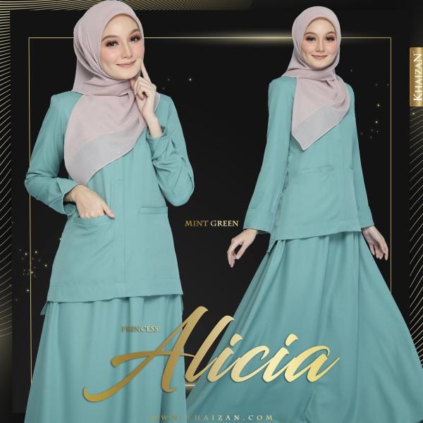 PRINCESS ALICIA - MINT GREEN - KHAIZAN