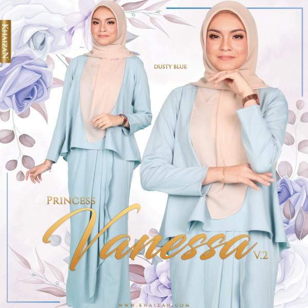 MISS VANESSA V2 - DUSTY BLUE - KHAIZAN