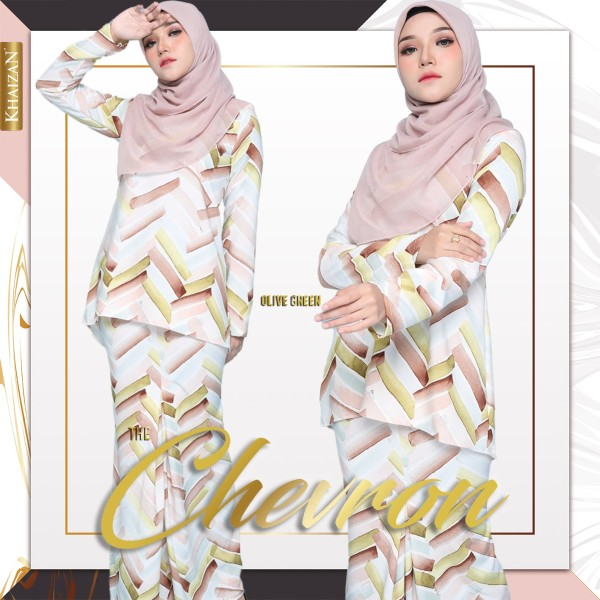 THE CHEVRON - OLIVE GREEN - KHAIZAN