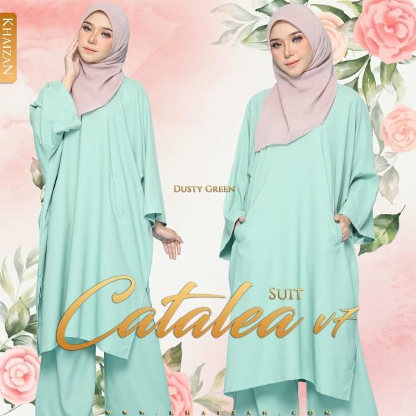 CATALEA SUIT V7 - DUSTY GREEN - KHAIZAN
