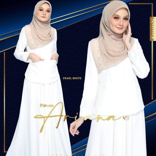 PRINCESS ARIANA - PEARL WHITE (V7)  - KHAIZAN