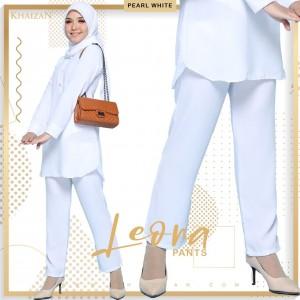 LEONA PANTS - WHITE - KHAIZAN