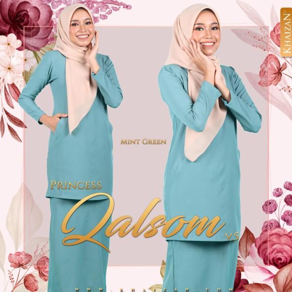 PRINCESS QALSOM V5 - MINT GREEN - KHAIZAN