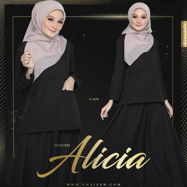 PRINCESS ALICIA - BLACK - KHAIZAN