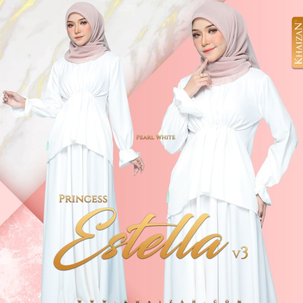 PRINCESS ESTELLA V3 - PEARL WHITE - KHAIZAN