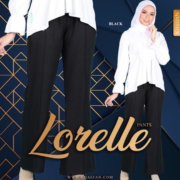LORELLE PANTS - BLACK - KHAIZAN