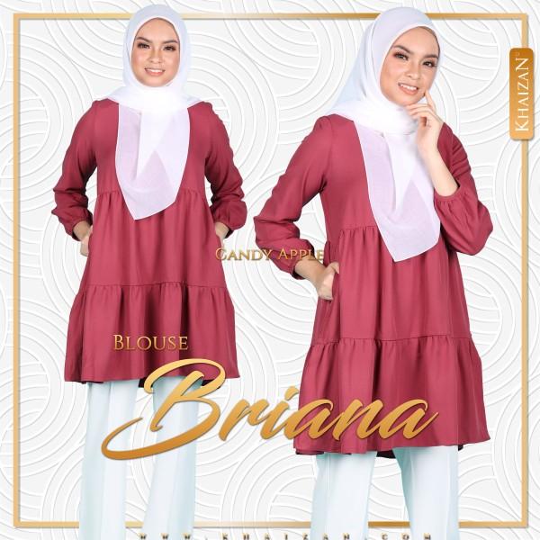 BLOUSE BRIANA - CANDY APPLE - KHAIZAN