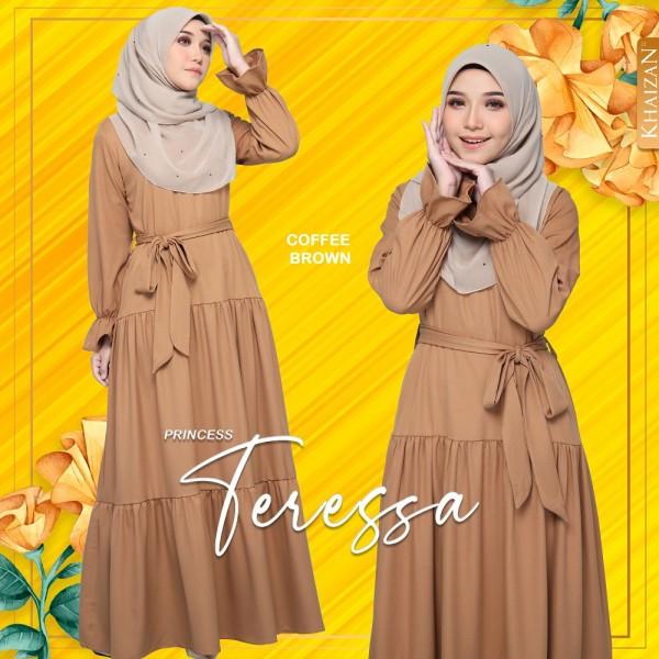 PRINCESS TERESSA - COFFEE BROWN (V2) - KHAIZAN