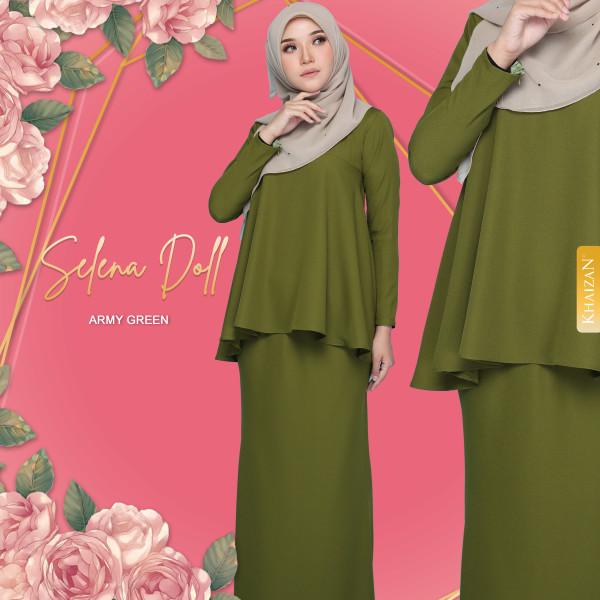 SELENA DOLL - ARMY GREEN (V3) - KHAIZAN