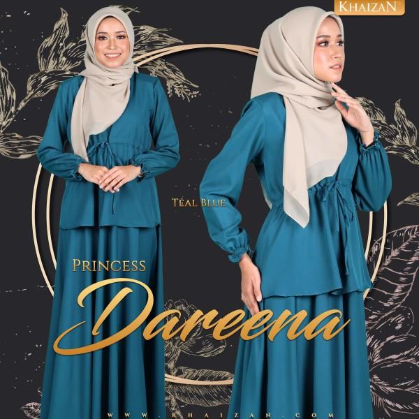PRINCESS DAREENA - TEAL BLUE - KHAIZAN