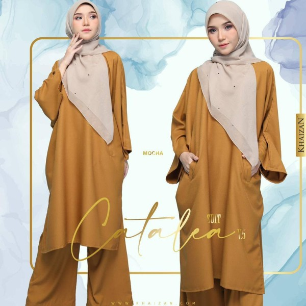 CATALEA SUIT V5 - COFFEE BROWN - KHAIZAN