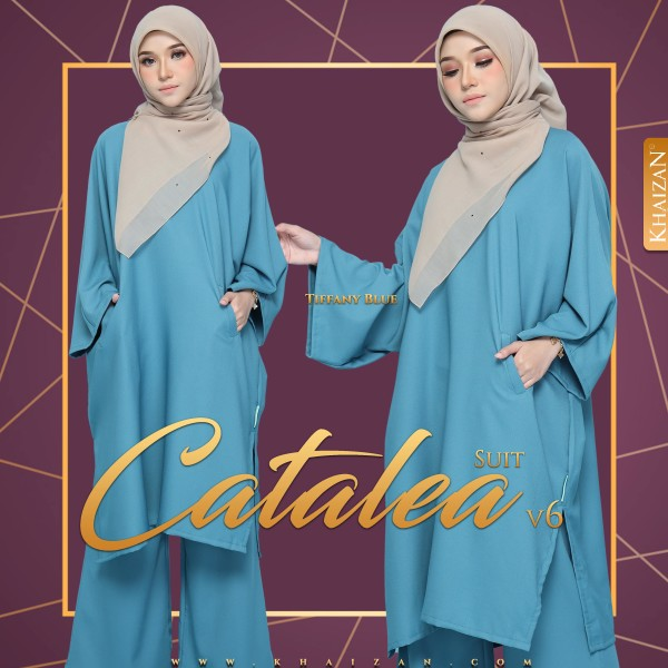 CATALEA SUIT V6 - TIFFANY BLUE - KHAIZAN