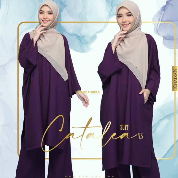 CATALEA SUIT - DARK PURPLE (V5) - KHAIZAN