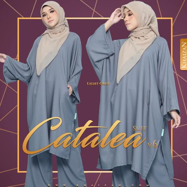 CATALEA SUIT V6 - LIGHT GREY - KHAIZAN