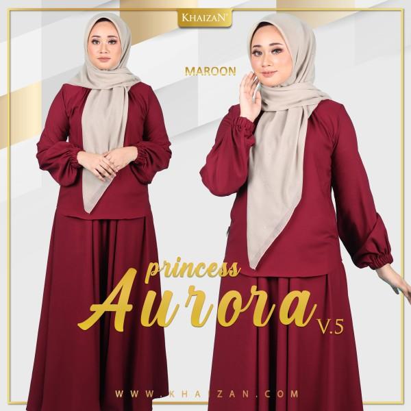 PRINCESS AURORA V5 - MAROON - KHAIZAN
