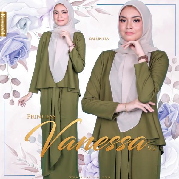 MISS VANESSA V2 - GREEN TEA - KHAIZAN