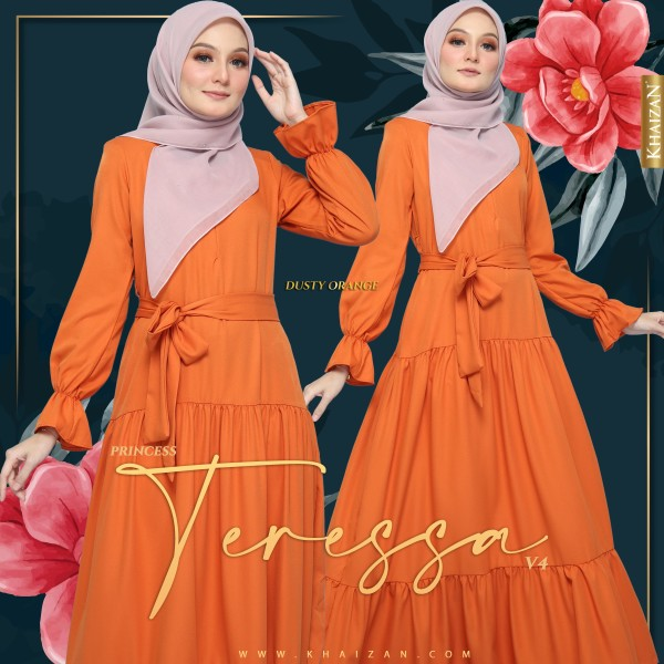 PRINCESS TERESSA V4 - DUSTY ORANGE - KHAIZAN