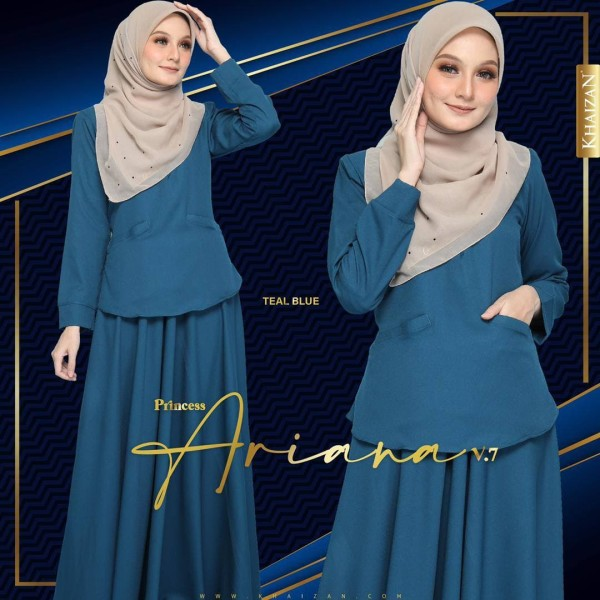 PRINCESS ARIANA - TEAL BLUE (V7) - KHAIZAN