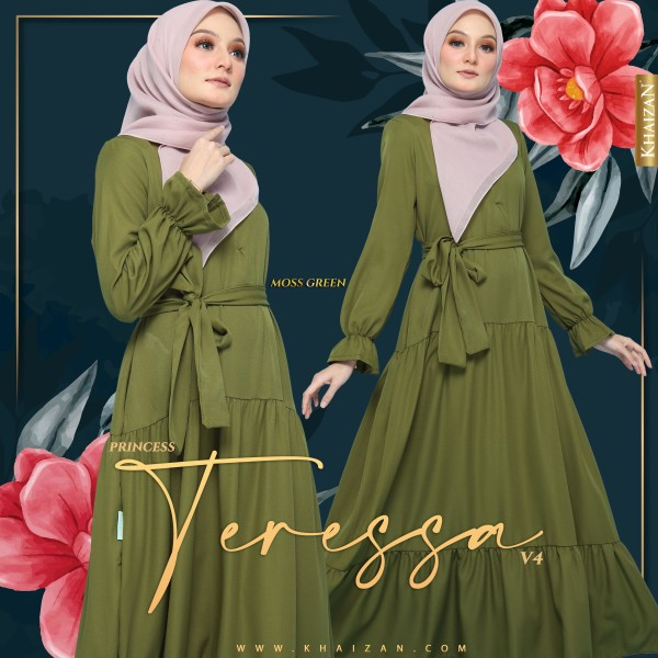 PRINCESS TERESSA V4 - GREEN TEA - KHAIZAN