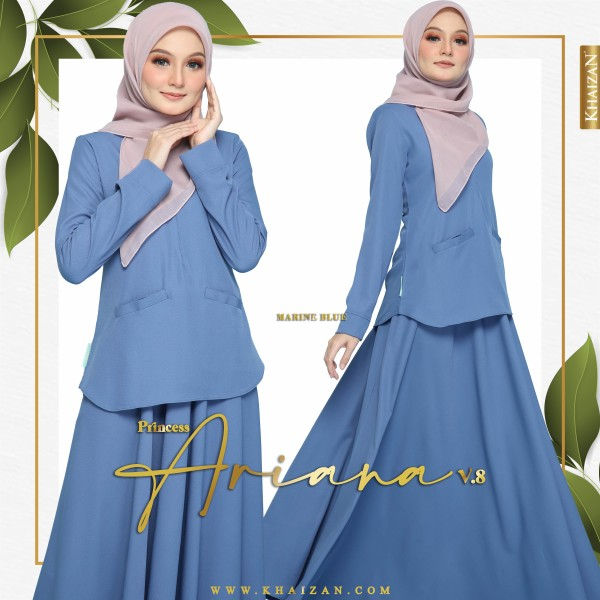 PRINCESS ARIANA V8 - MARINE BLUE - KHAIZAN