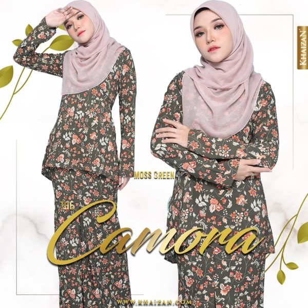 THE CAMORA - MOSS GREEN - KHAIZAN